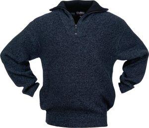 Pollver Troyer Gr.M schwarz/blau-meliert 100% Polyester