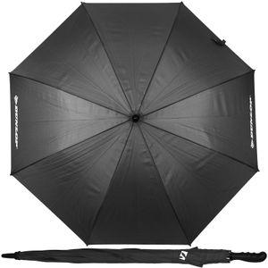 Dunlop XXL Paar Regenschirm Grau 130cm Partnerschirm für 2 Personen Stockschirm Familienschirm Doppelregenschirm