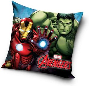 Marvel kissen Avengers Iron Man & Hulk 40 x 40 cm Polyester