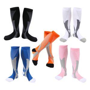 5 Pairs Kompressionsstrümpfe, Kompressionssocken, Kniestrümpfe für Damen & Herren, Sneaker Socken