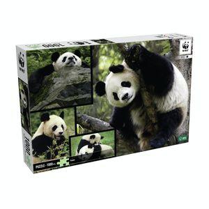 WWF Puzzle Pandas (1000 Teile) Pandabär Puzzel Bär