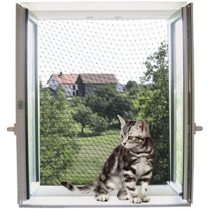 Katzenschutznetz Kerbl transparent  200x300cm