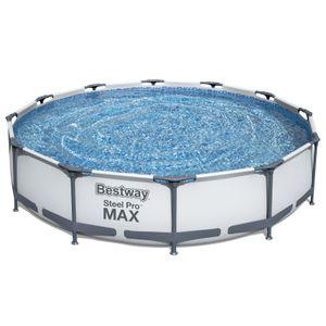 """Bestway Frame Pool """"Steel Pro"""" Set - rund, 366 x 76 cm; 56416"""