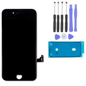 iPhone 7 Retina LCD Display Scheibe 3D Touch Screen Digitizer Bildschirm Schwarz (A1660, A1778, A1779)
