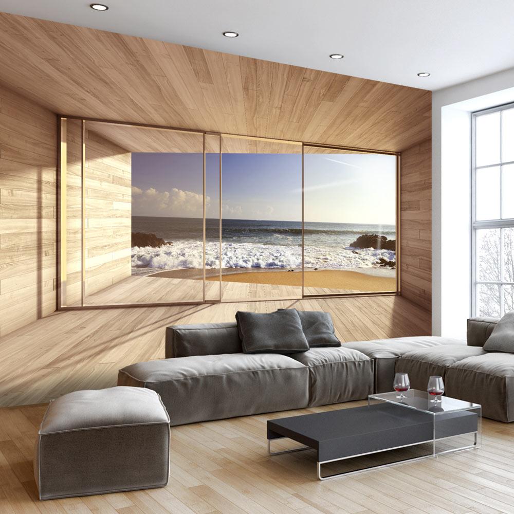 Tapeten Bord/üre Dundee Deco MGAZB6004 Selbstklebende Blumen-Aufkleber f/ür Spiegel 10 m x 10 cm Fenster