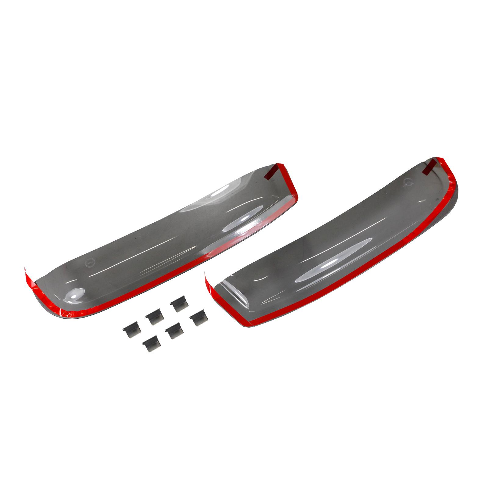1 Set 2012-2019 Dunkles Material 5-Door f/ür die Fahrer und Beifahrerseite-CLS0044424D kompatibel mit BMW 3ER Touring TYP F31 Hintere Windabweiser