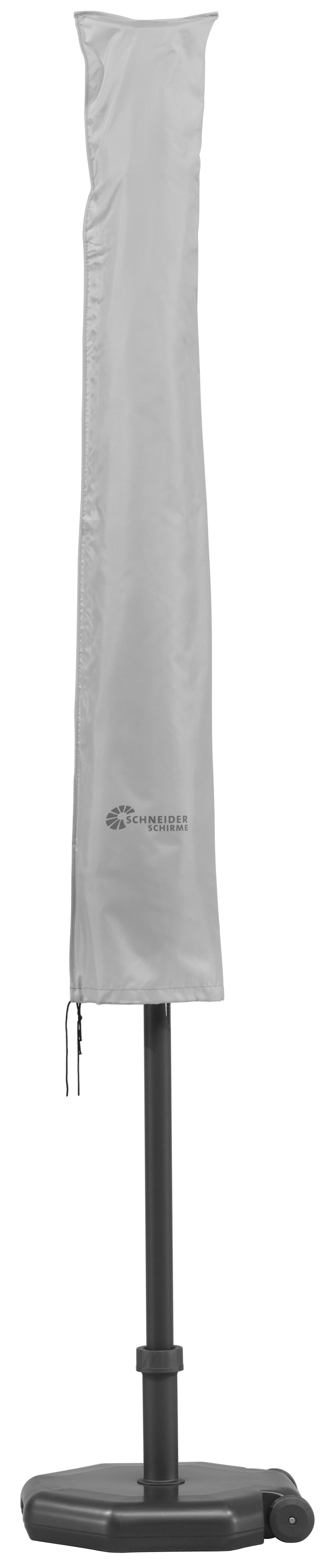 Ma/ße: L/änge ca. 215 cm , Farbe: gr/ün Sonnenschirmhaube ohne Rei/ßverschluss F/ür Schirme bis 400 cm /Ø