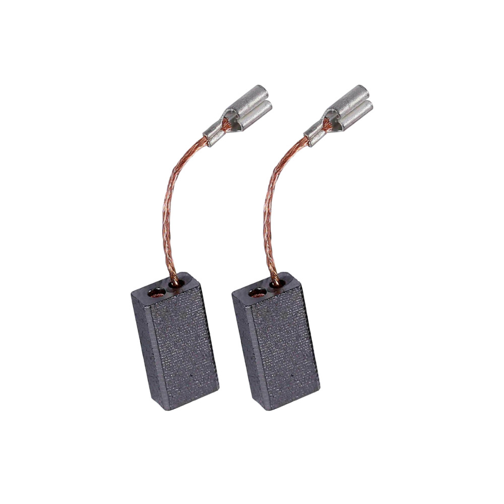 2 Motorkohlen Kohlebürsten für Bosch Winkelschleifer GWS 8-125 CE PWS 6-115