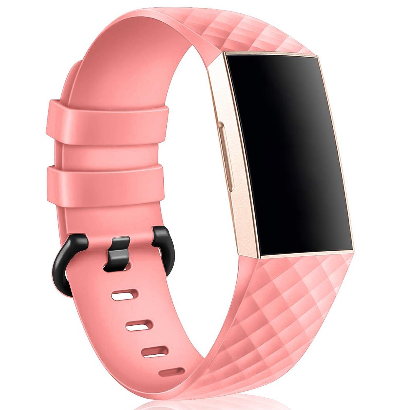 Für Fitbit Charge 3 Nylon Sport Armband Ersatzarmband Uhrenarmband Uhr Strap