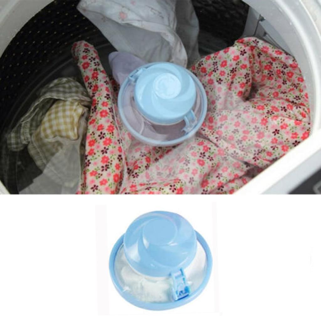 Magische Haarentfernung Wäsche Ball Kleidung Waschmaschine ReinigungskugelSH
