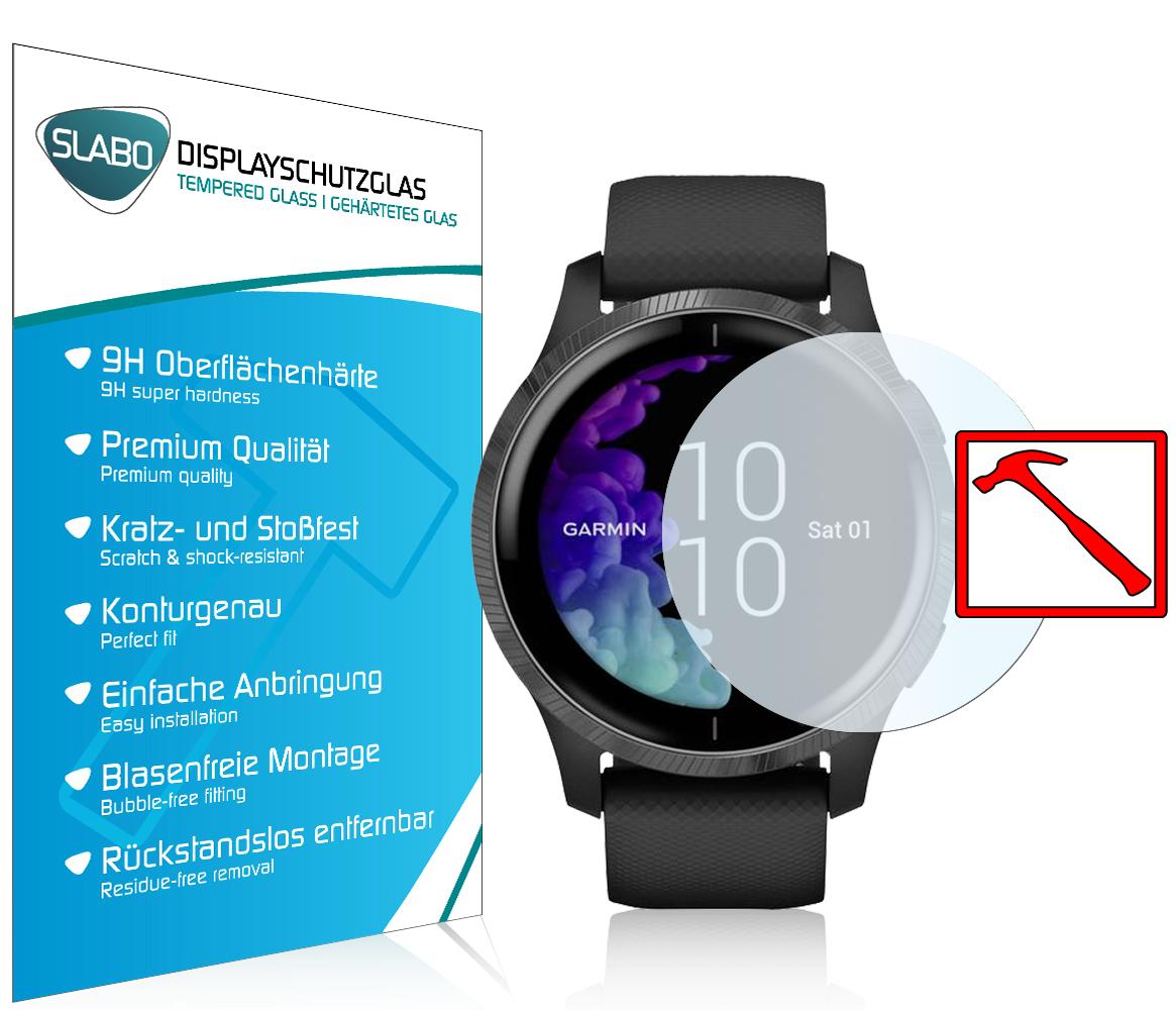 blasenfrei 3 St/ück Displayschutzfolie f/ür Garmin Venu Sq GPS Smartwatch wasserdicht gebogene Kanten volle Abdeckung kratzfest 3D