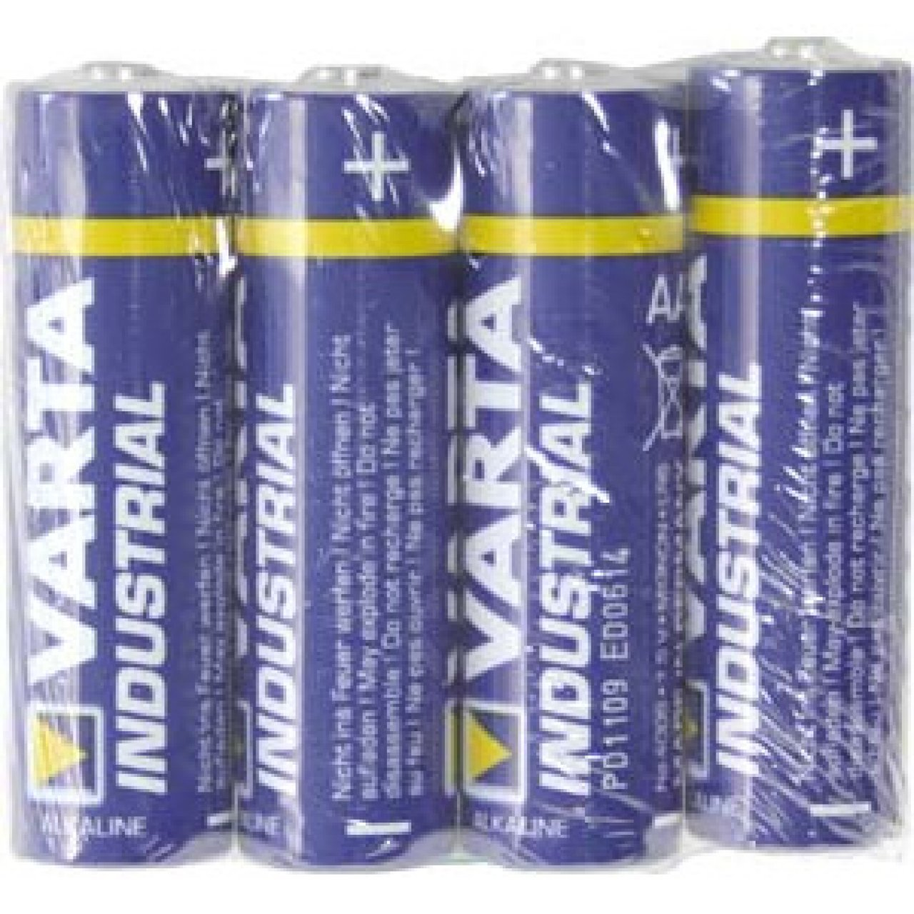 Varta Industrial Pro 4006 AA Mignon lr6 Alcaline 1,5 V Batterie-Quantité au choix
