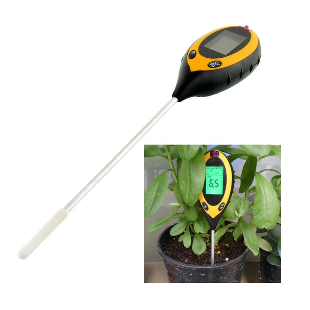 Tubayia Digital PH Meter Tester Bodentester Bodenmessger/ät f/ür Garten Rasen Gew/ächsh/äuser