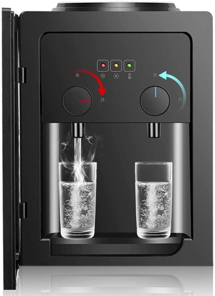 Freistehender Wasserspender Mit Top-Loading-Funktion 2 Temperatureinstellungen Und Kaltwasserspender Mit Gro/ßem Stauraum / Hei/ß