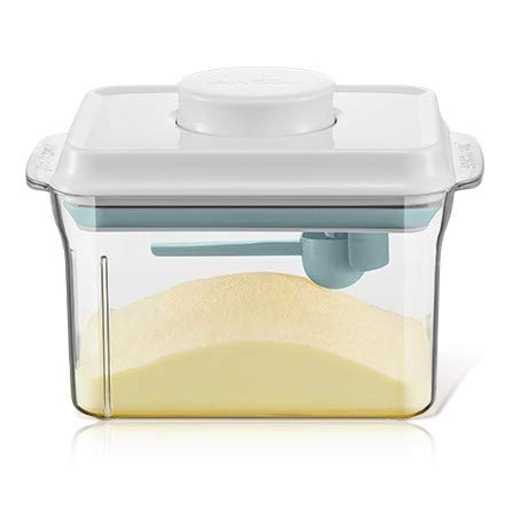 Blau, Gr/ün, Rosenrot Milchpulver Aufbewahrungsbox Baby Milchpulver Spender Dose Portionierer Box f/ür Ausfl/üge Oder Reisen Verwendet Werden Qiundar Milchpulver Box
