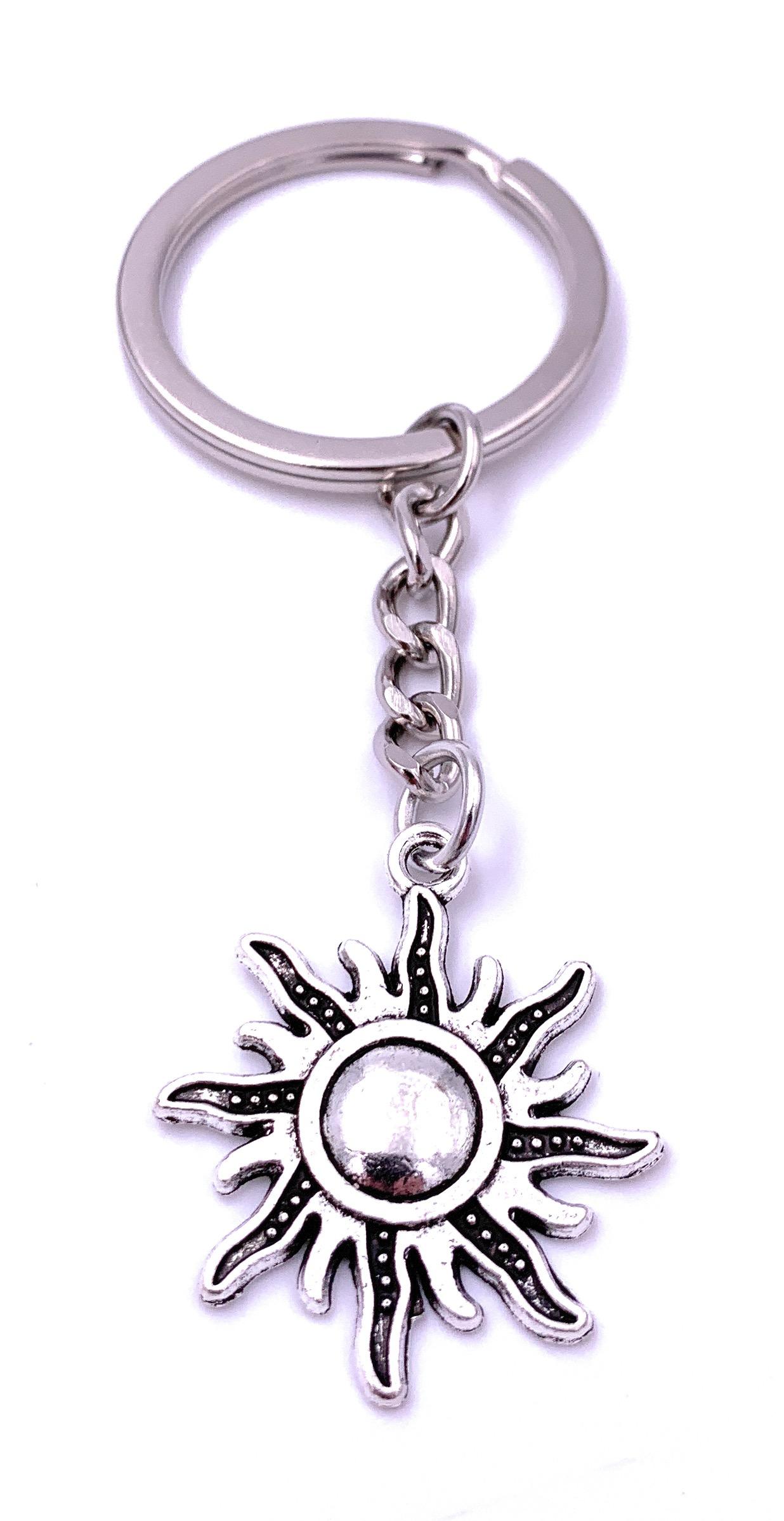 Schmetterling Schlüsselanhänger Anhänger Silber aus Metall