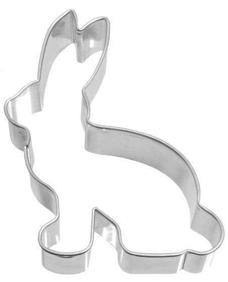 Birkmann Lebkuchen-Ausstechform Hase Ausstecher Plätzchenform Edelstahl 11.5 cm