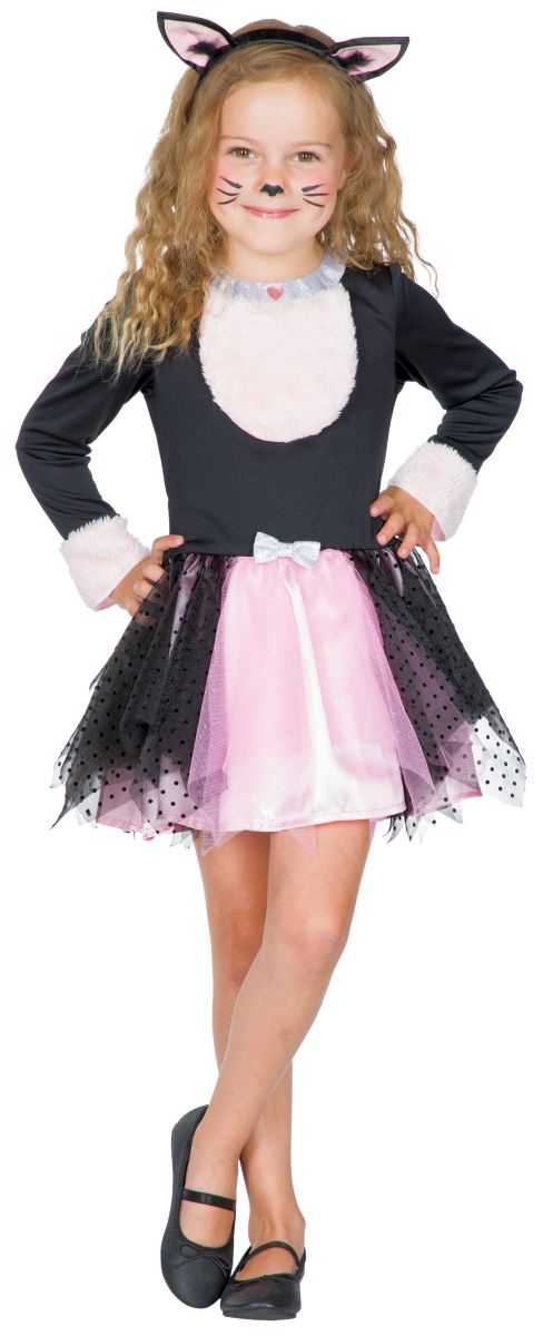 104 /%SALE/% Dalmatiner Kinder Kostüm Mädchen Kleid Hund Tierkostüm Fasching Gr