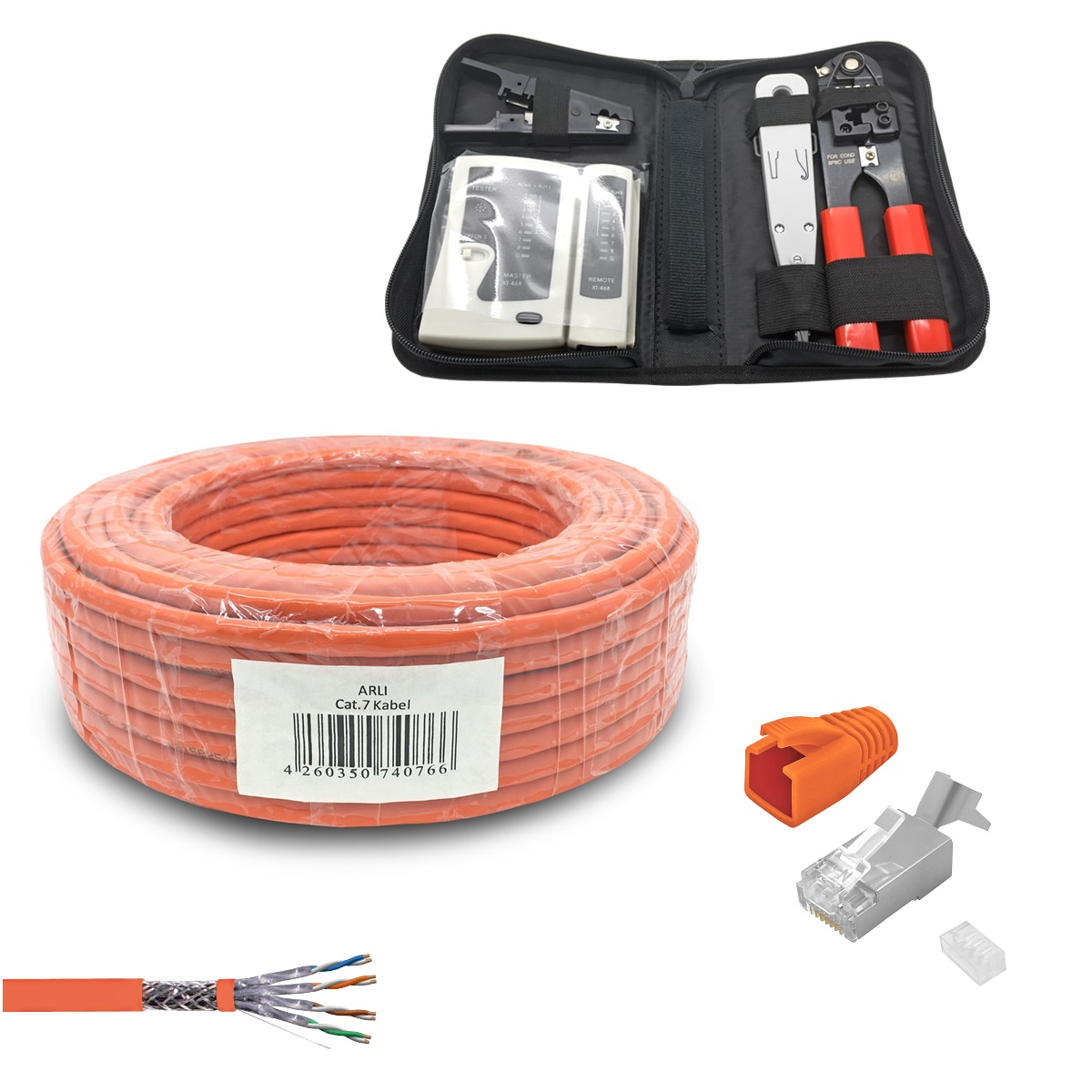 Computer Network Cord CPD-C2422-B17 Blue 17 Feet CAT Ethernet Cable Cat LAN