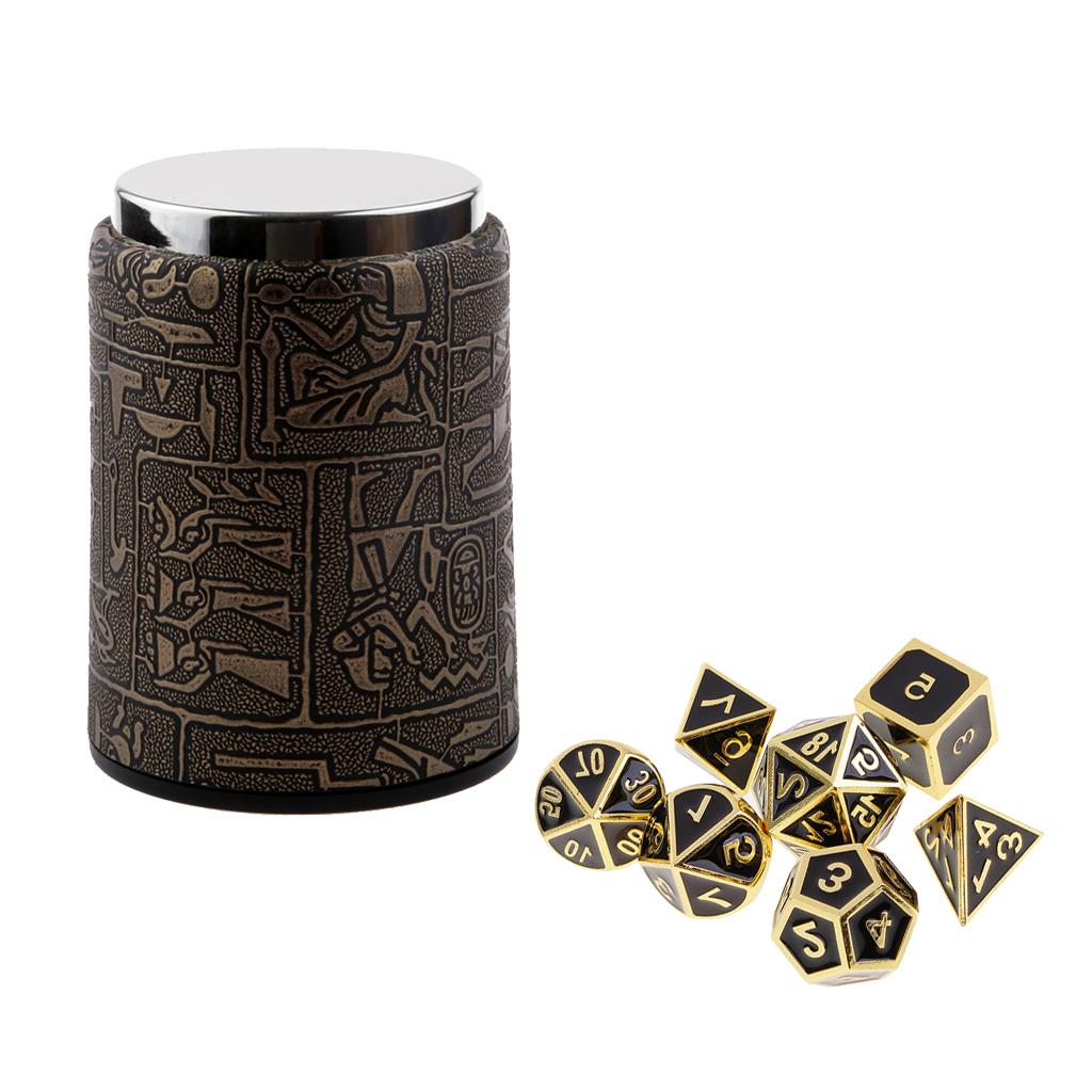 7 Set Metall Polyhedral Würfel Für Dungeons Kaufland De