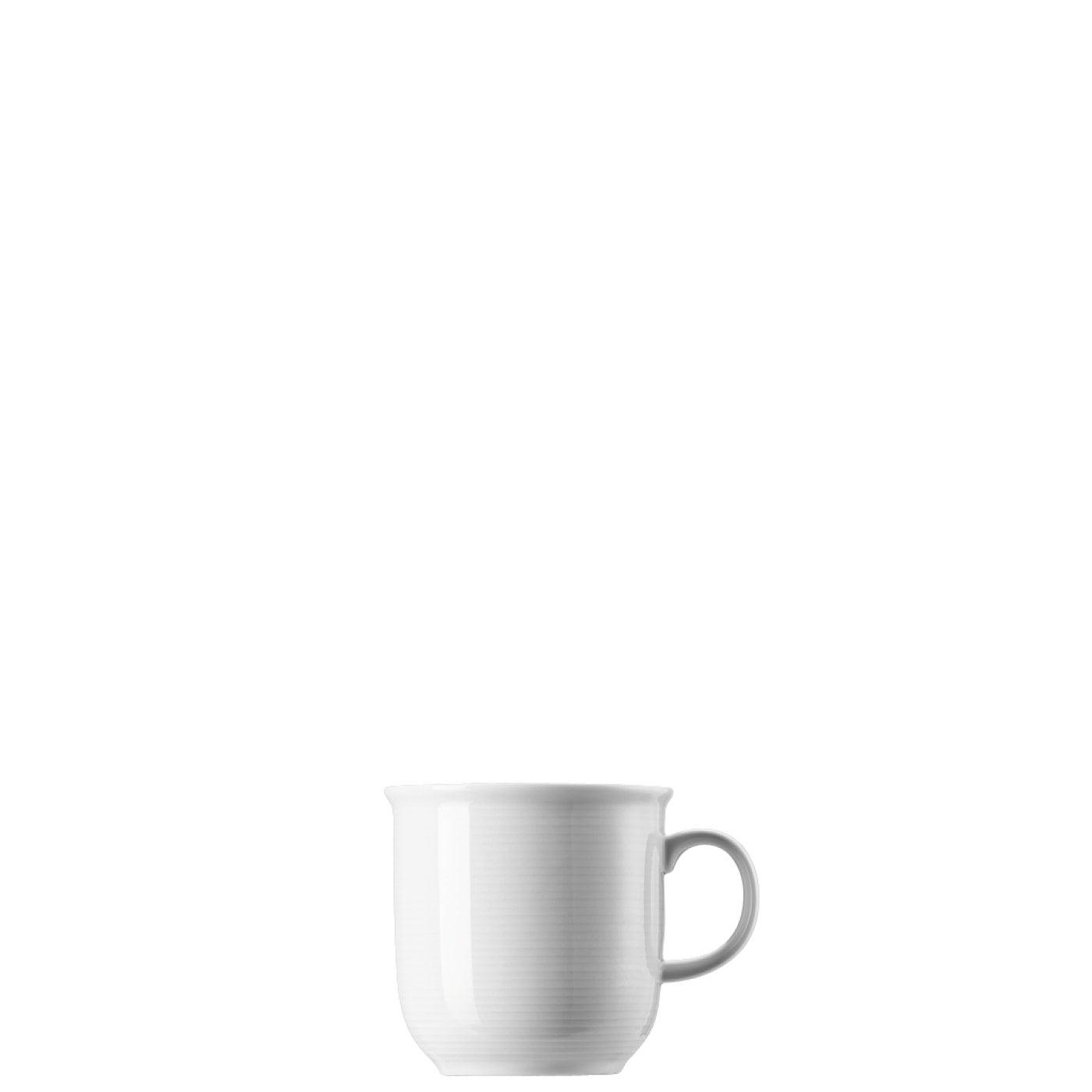 Thomas 8 x Becher mit Henkel groß Trend Weiß 11400-800001-15571