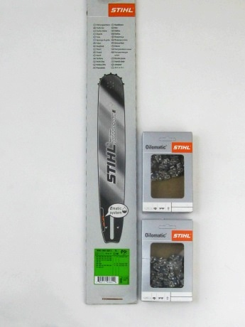 2x Sägekette 40 cm für STIHL Motorsäge 036 MS 360 in der Kettenbox