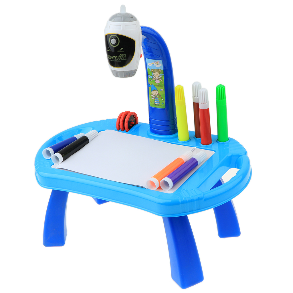 Kinder Smart Learn Projektor Kinder Lern Schreibtisch Spielzeug Malertisch