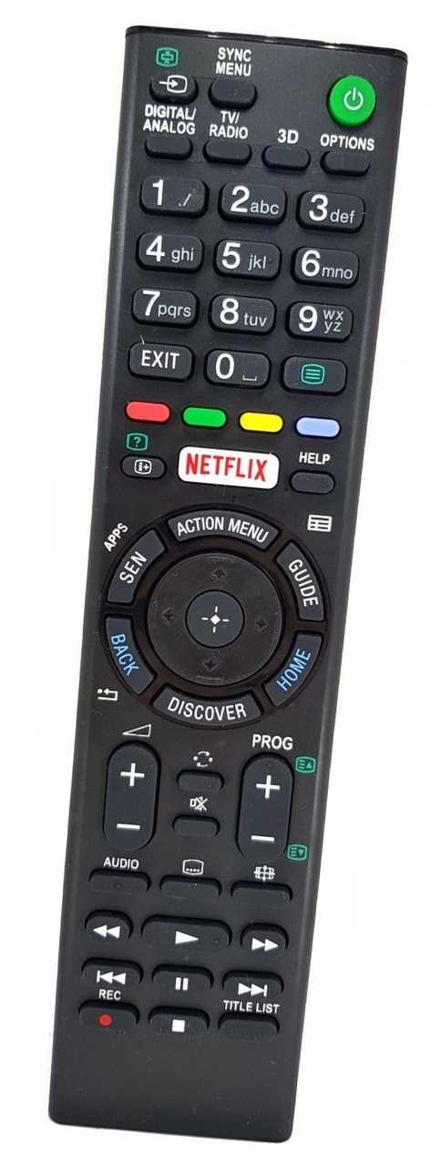 Original TV Fernbedienung für SONY KD65X9005C Fernseher