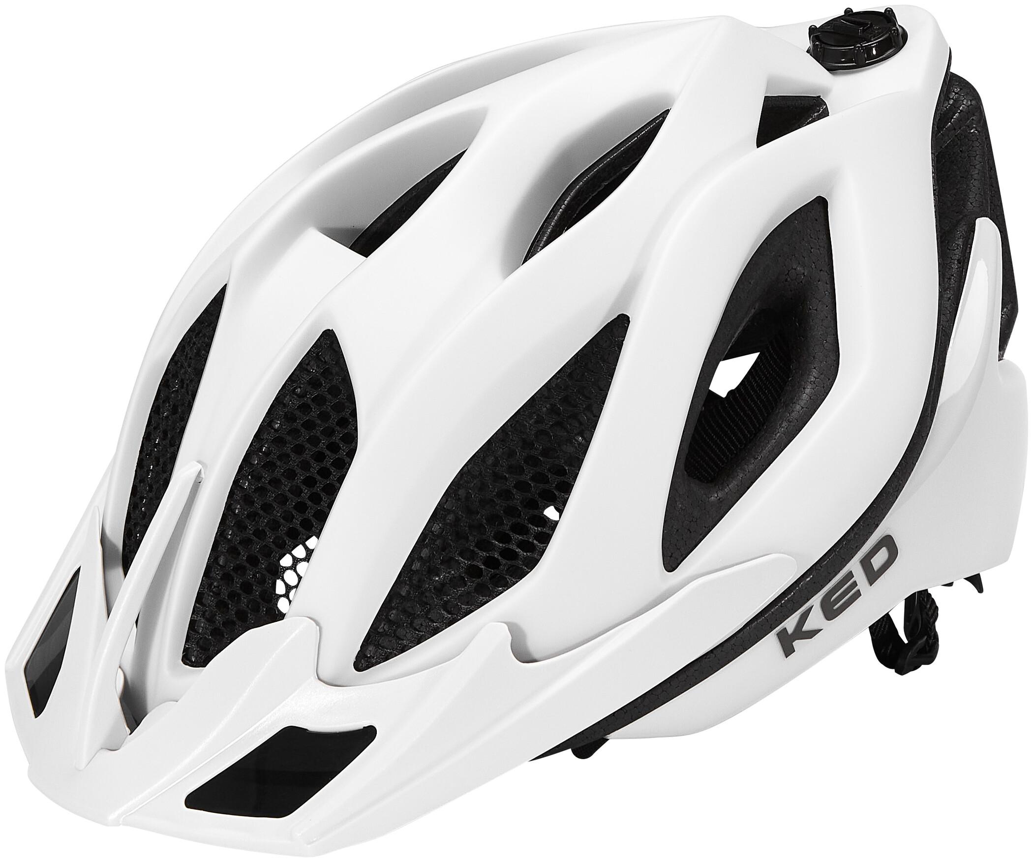 KED Companion Helm Blue//White Matte 2020 Fahrradhelm