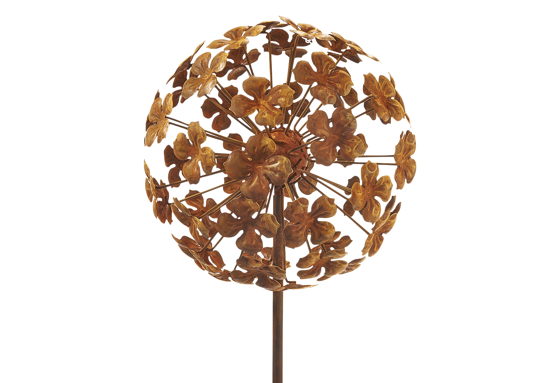 Rasen rustikal Sonnenblume INFILM Metall-Sonnenblumen-Gartenstecker Hof Kunst-Ornamente f/ür drau/ßen Terrasse dekorativer Pflanzenstecker
