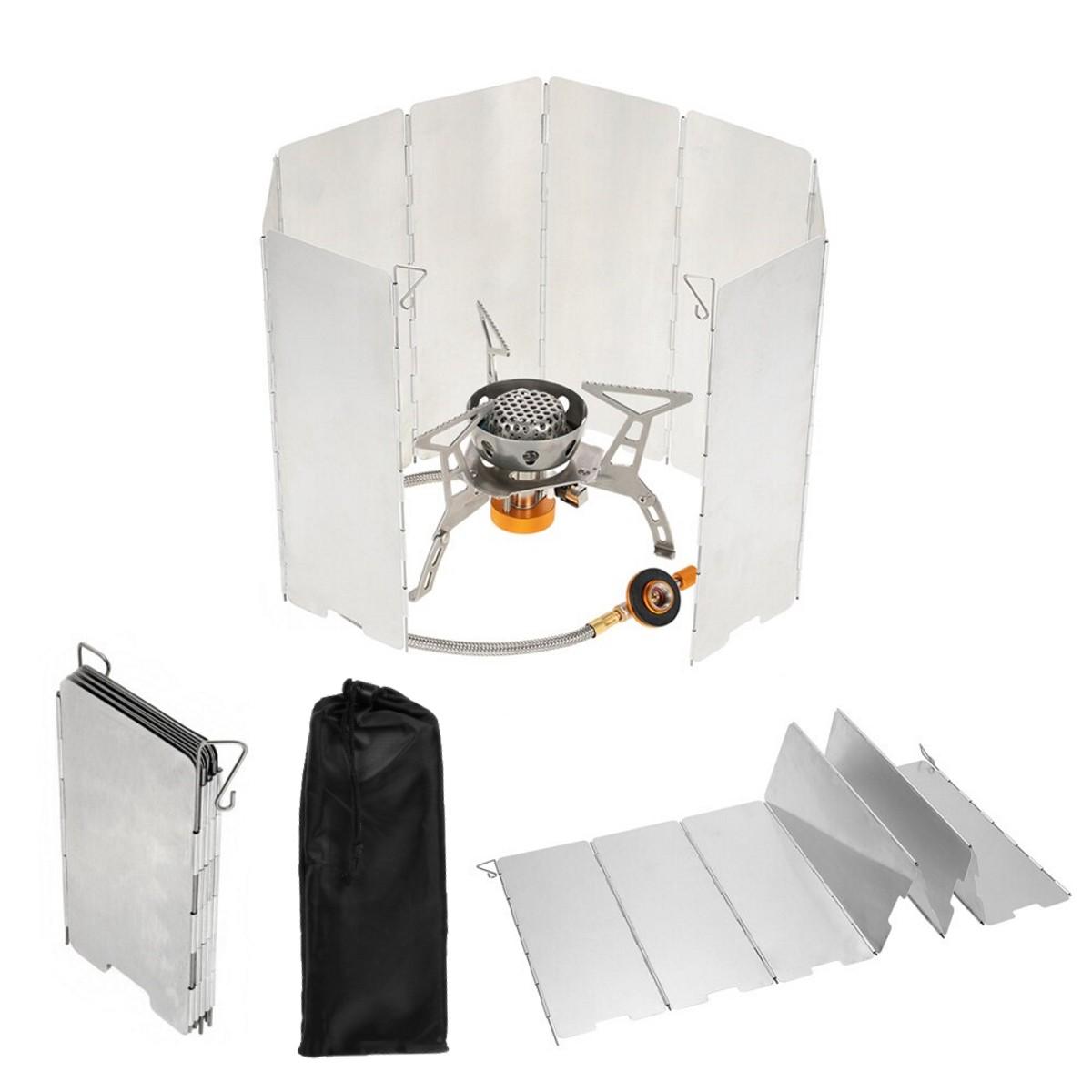 Reine Titan Campingkocher Windschutz Campingkocher Windschutz Outdoor Gasher C5T