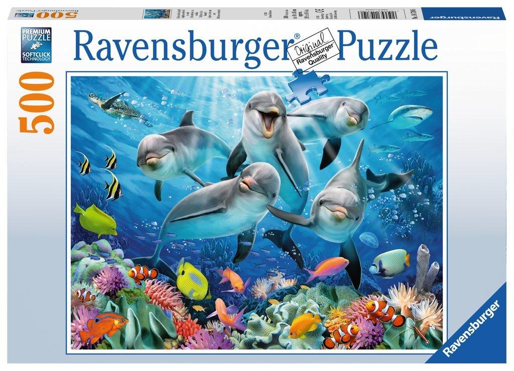 RAVENSBURGER Erwachsenenpuzzle Flauschiges Vergnügen Premiumpuzzle 500 Teile