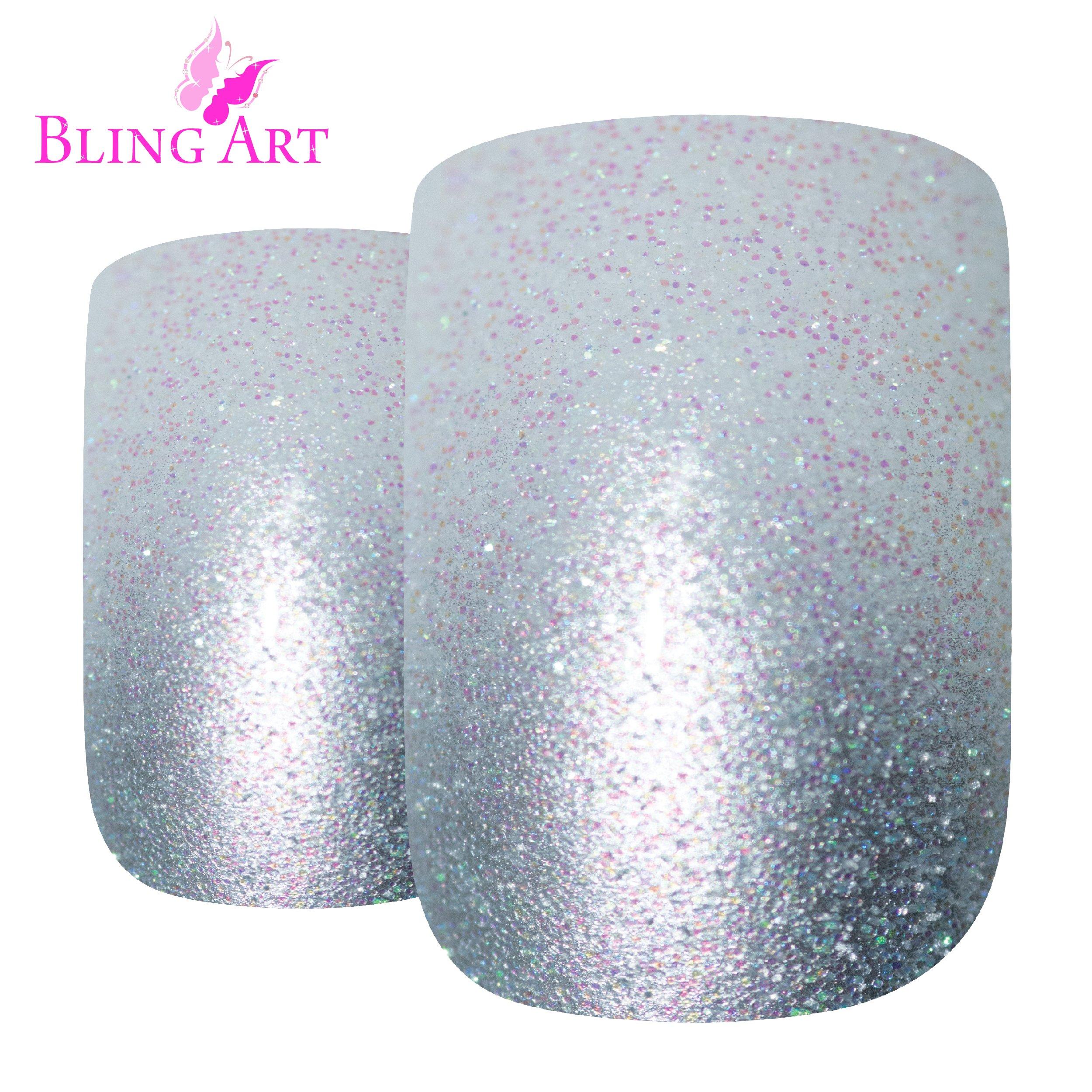 Kaned Lip Nagel Ohrringe Gl/änzende kubische Langhantel Clear Faux Diamond Helix Lippenring Stahl Farbe 6mm 2mm