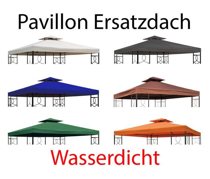 vidaXL Ersatzdach Partyzelt 3x6m Anthrazit Dach für Pavillon Pavillondach