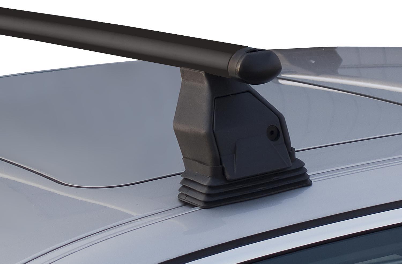 VDP 2xFahrradtr/äger SAGITTAR Dachtr/äger Menabo Tema Stahl kompatibel mit BMW 1er E81 2008-2011