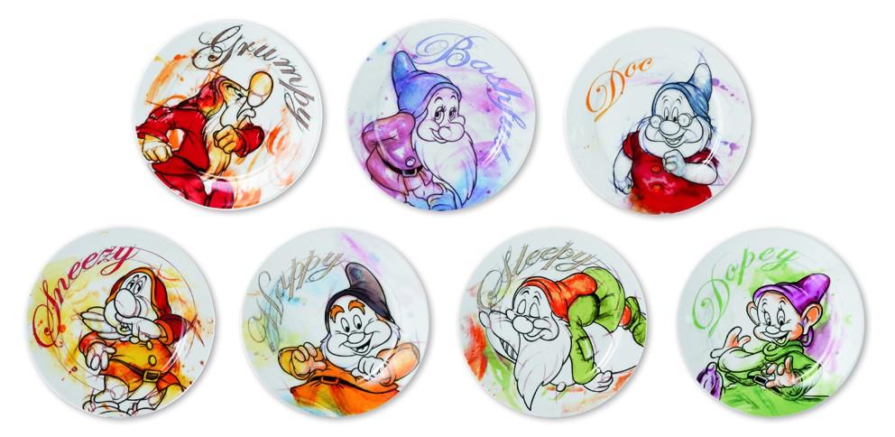Modern Picture Teller Doc Sieben Zwerge Seven Dwarfs Disney Porzellan