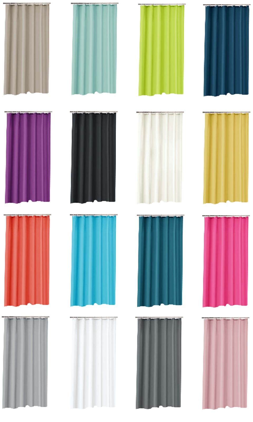 Duschvorhang aus Polyester Parkarma 180x200cm Wasserdicht Fr/ühling Duschvorhang
