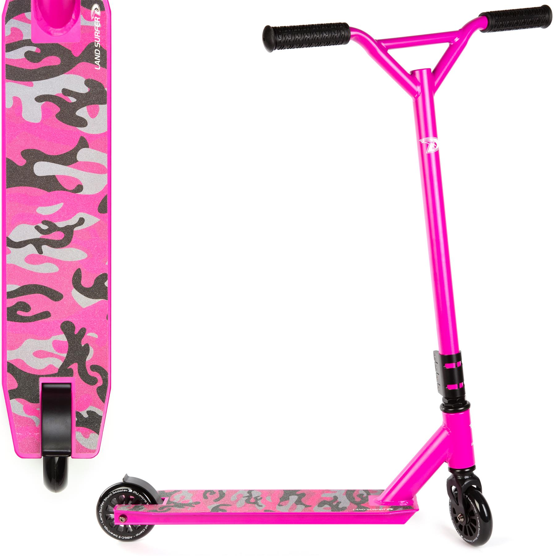 Land Surfer Stunt Scooter – Pink Camo