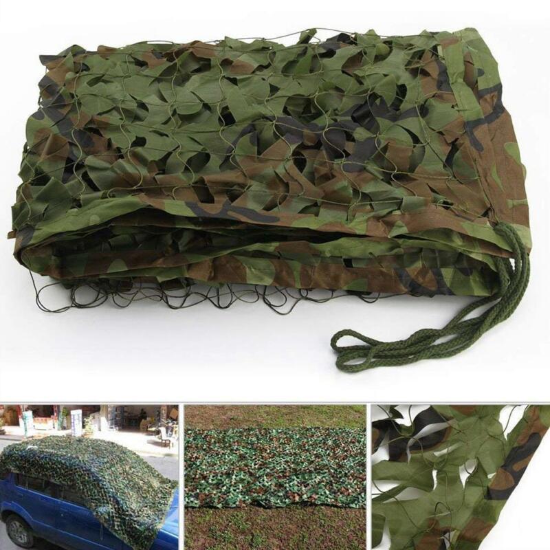 MEHRWEG Paket Camouflage Netz Armee Tarnnetz Woodland Tarnung Net f/ür Sonnenschutz Jagd Waldlandschaft Schm/ücken Tierfotografie