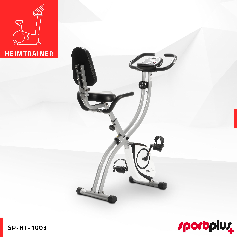 SportPlus Fitnessbike Ergometer Heimtrainer Hometrainer Fitnessgerät Trimmrad